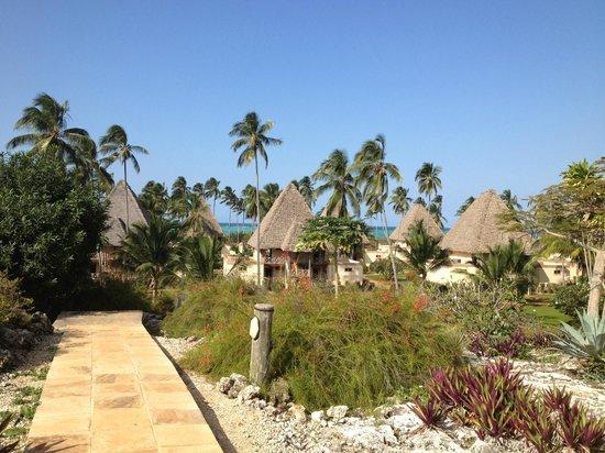 Neptune Pwani Beach Resort & Spa : view from spa