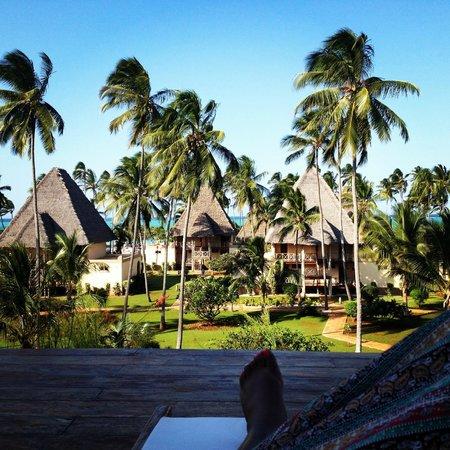 Neptune Pwani Beach Resort & Spa: view from spa