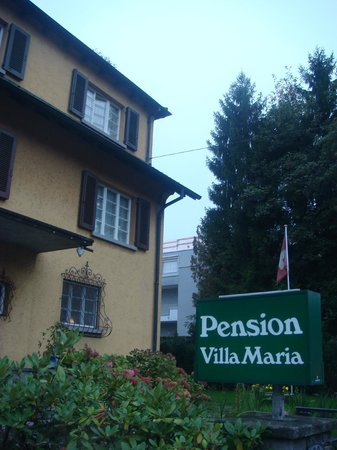 Pension Villa Maria: Outside View