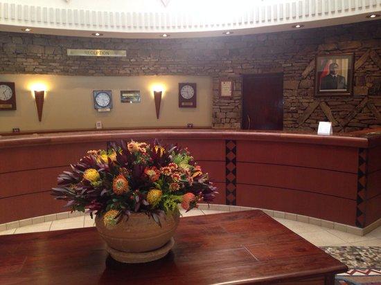 Elephant Hills Resort: Reception area