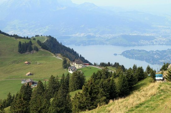 Mt. Rigi: another view from top