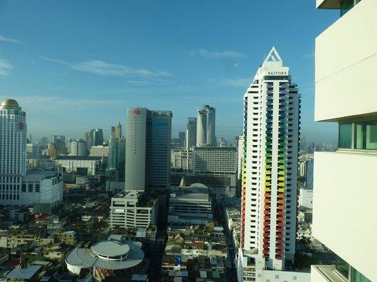 Baiyoke Sky Hotel : View from our Window