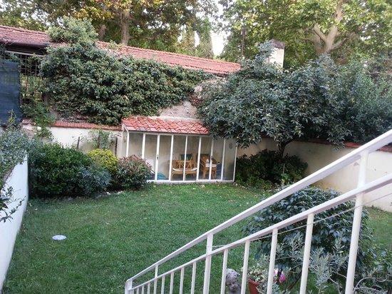 Il Diospero B&B : Garden view from ground floor room