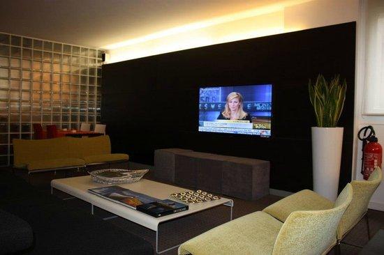 Design Hotel F6: Espace commun