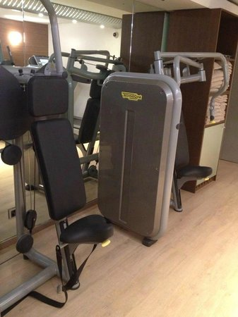 Design Hotel F6: Machines fitness