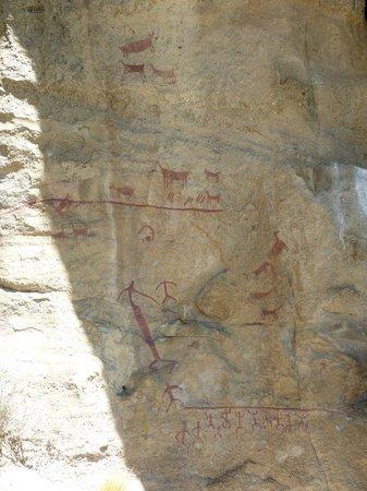 Walichu Caves: Rupestre