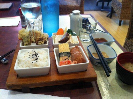 Ginga Japanese Restaurant: Shojin Bento