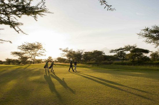 The Kilimanjaro Golf and Wildlife Estate: Best time to be on the golf course