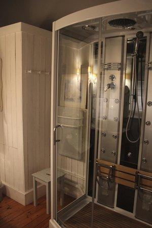 Chambres d'Hotes du Parc: a modern bath