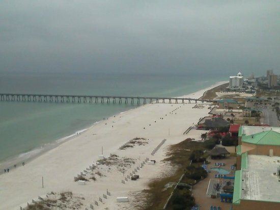 Hilton Pensacola Beach: View from balcony # 1334