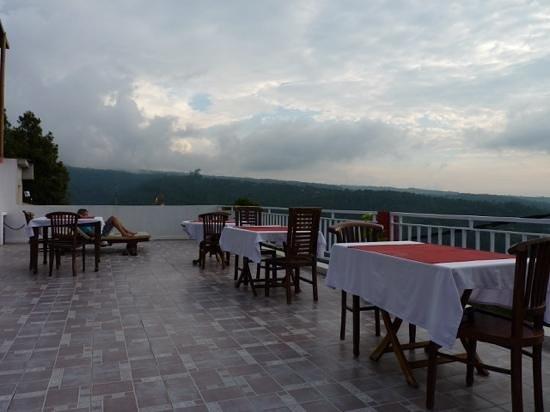 Aditya Homestay : la terrasse