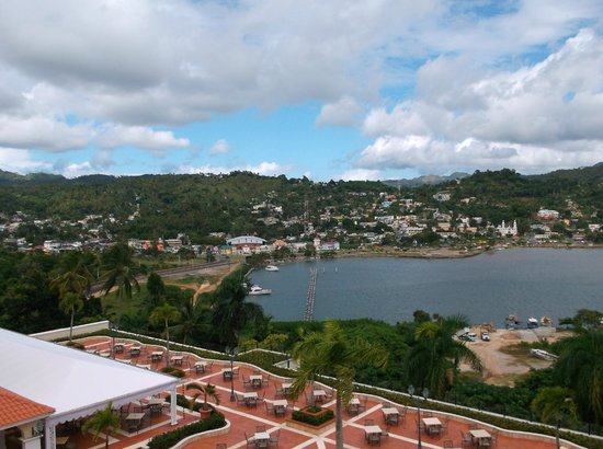 View of Samana town from the hotel Picture of Grand Bahia Principe