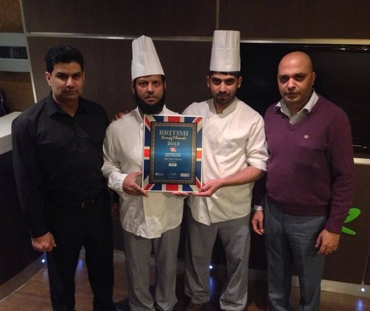 Lime Indian Restaurant : British Curry Awards 2013 Runner up