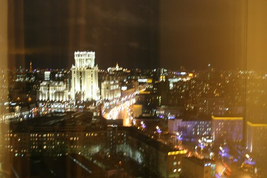 Swissotel Krasnye Holmy Moscow : View from my room at the 18th floor