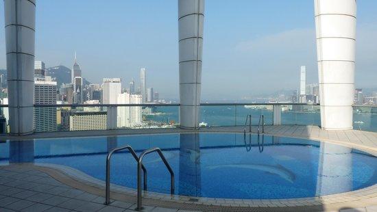 Metropark Hotel Causeway Bay Hong Kong: rooftop swimming pool