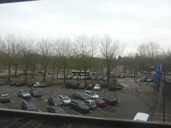 Novotel Amsterdam City: View from the Room (2nd floor)