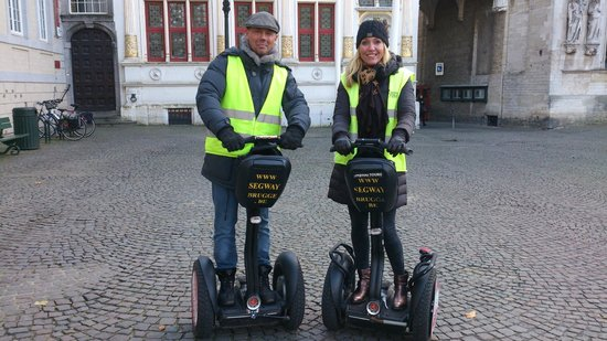 Segway Bruges: The best thing to do in Brugge : SEGWAY huren