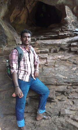 Kurnool, Индия: At a cave at Ahobilam