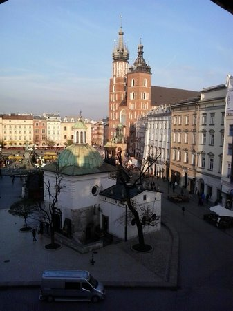 Cracow Hostel: widok z okna