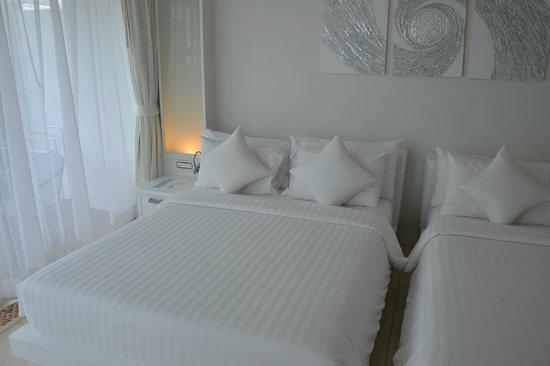 Samui Resotel and Spa: zwei dieser Betten