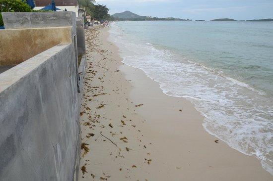 Samui Resotel and Spa: etwas schmal der Strand
