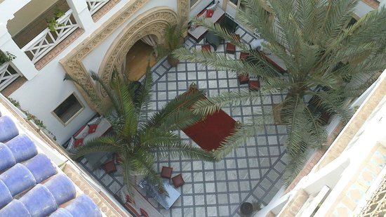 Riad Dar L'Oussia : View from rooftop terrace