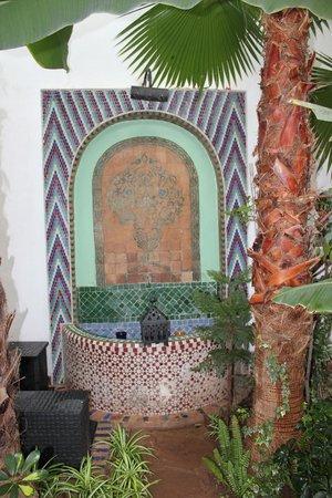 Maison Arabo Andalouse : cortile