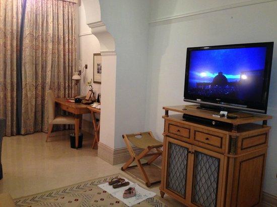 Taj Falaknuma Palace: View of the Palace Room