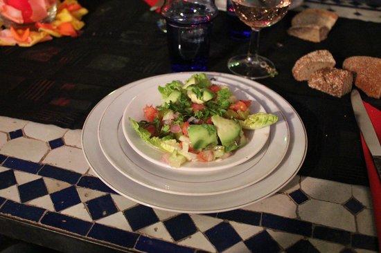 Maison Arabo Andalouse: cibo