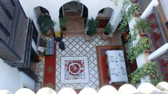 Riad Al Kadar : ancora il patio