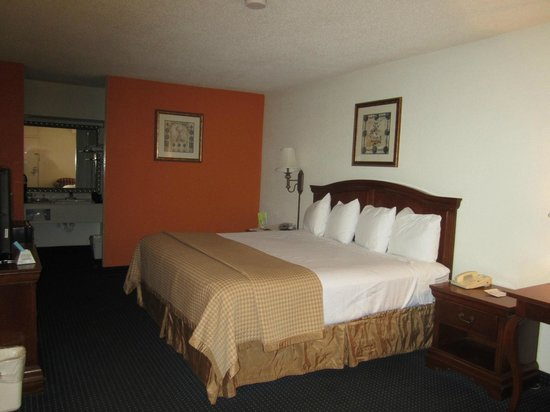 Baymont Inn & Suites Rocky Mount North Battleboro : Room on 1st floor