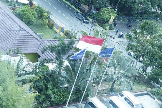 Novotel Balikpapan: hotel view