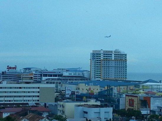Novotel Balikpapan: balikpapan city view