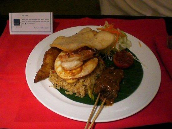 Novotel Balikpapan: balikpapan fried rice