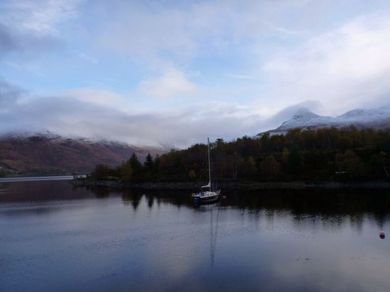 Isles of Glencoe Hotel & Leisure Centre: Pap of Glencoe from hotel