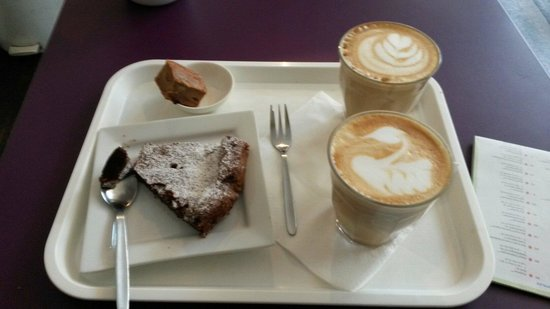 Barista Coffee and Cake