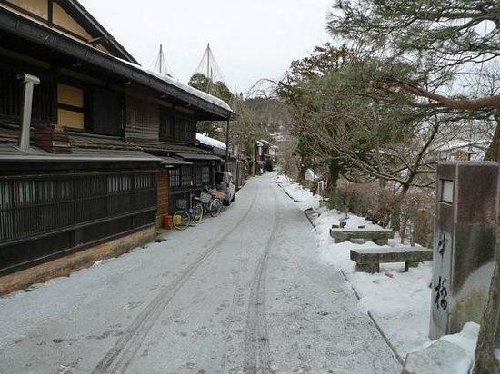 Honjin Hiranoya Annex: 街景