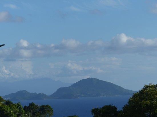 An Eol Caraibes: Vue sur les îles,même par temps nuageux