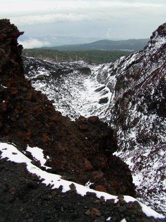 Etna People: look to a caldera