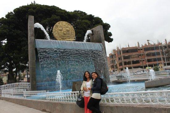 Eco Inn Cusco : Praça