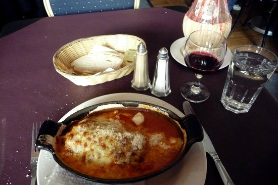 Cafe Sambuca: Cannelloni, main course