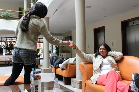 Eco Inn Cusco : Chá de coca