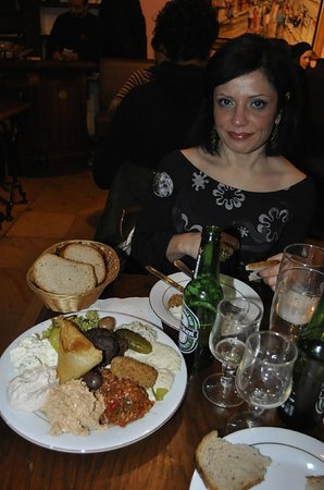 chez marianne, piatto di assaggi