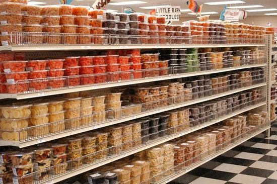 Weaver Nut Sweets & Snacks: Imported and domestic dried fruits