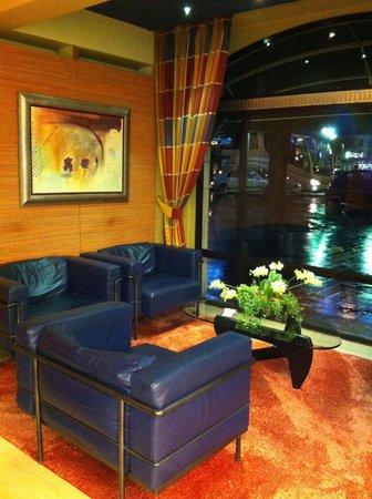 Park Hotel Brugge : hotel lobby