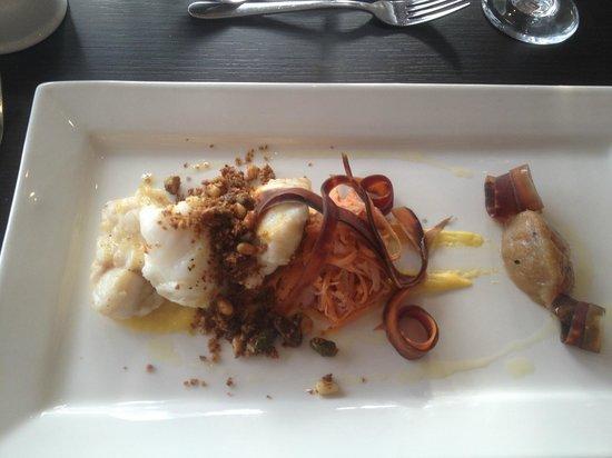The Lakes Restaurant: Monkfish