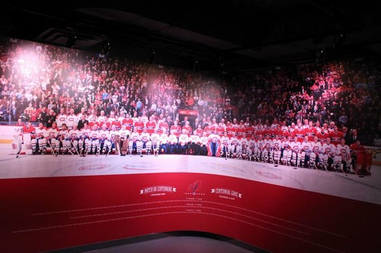 Montreal Canadiens Hall of Fame: Millenium Photo