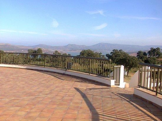 Paraje la Lambra: Vistas desde el hotel- Terraza