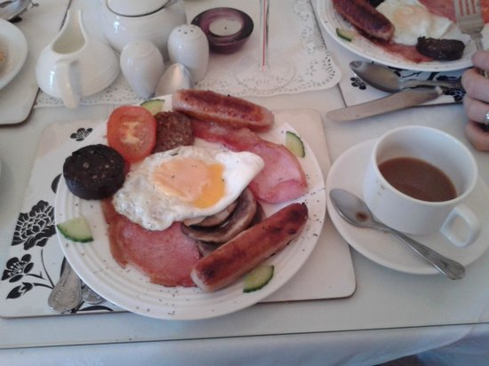 Donnybrook Hall Hotel: Full irish breakfast