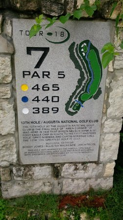 Tour 18 Houston: My favourite hole in golf.